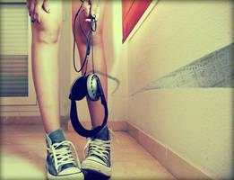 No music makes me sick by sakgaa