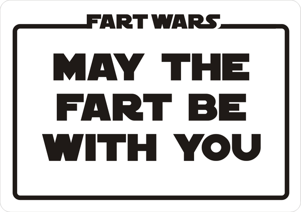 Fart Wars Label by CmdrKerner