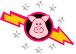 Pigs in Space Logo