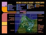 Starfleet Academy Map