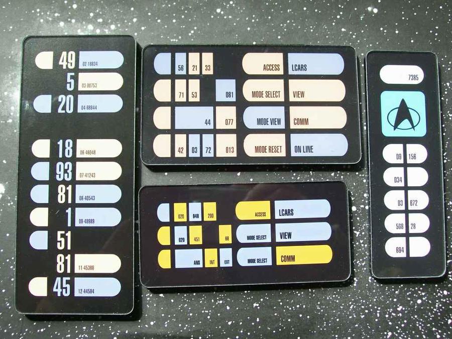lcars keypad collection by cmdrkerner on deviantart. Black Bedroom Furniture Sets. Home Design Ideas