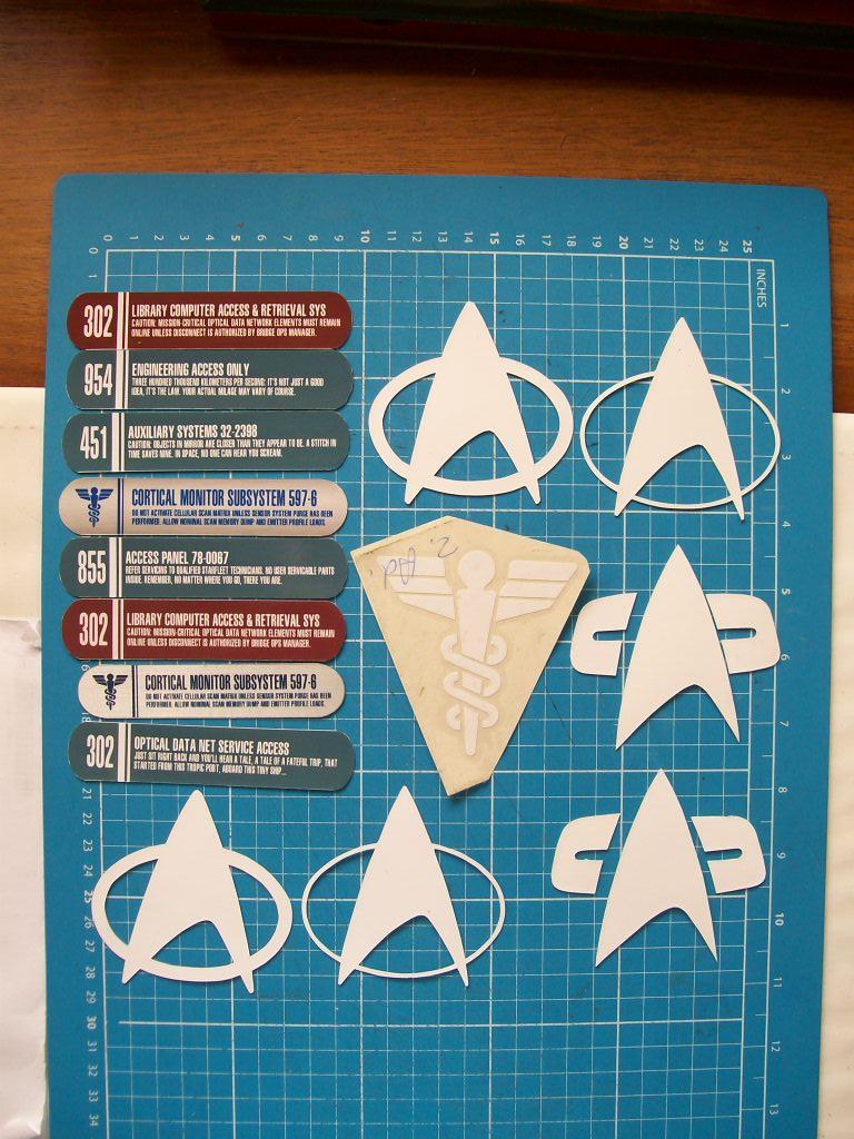 Starfleet Stickers by CmdrKerner