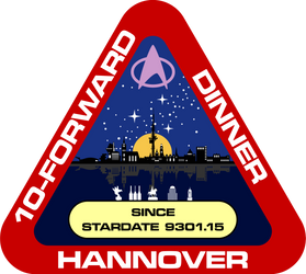 10-Forward-Dinner Hannover Logo for 2015 by CmdrKerner