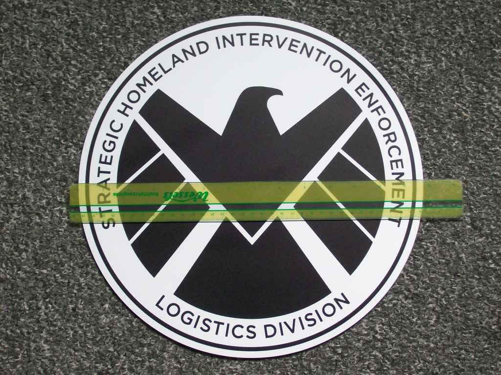 Marvels Agents of S.H.I.E.L.D. Door Magnet by CmdrKerner