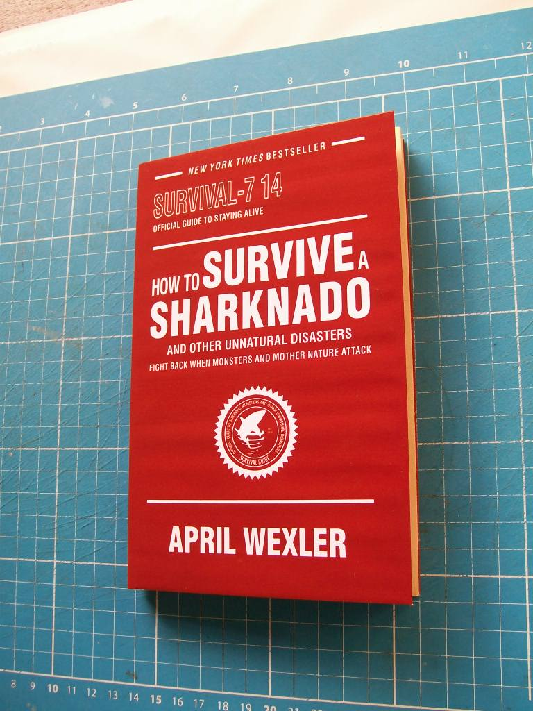 How to Survive a Sharknado - Fake Book by CmdrKerner
