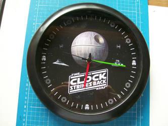 Star Wars Wall Clock by CmdrKerner