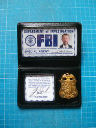 The X-Files Credential by CmdrKerner