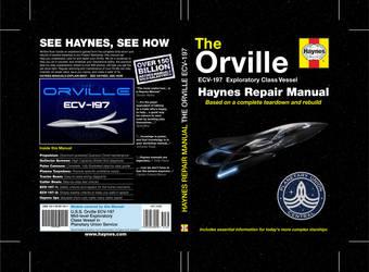 Dustjacket The Orville Repair Manual by CmdrKerner