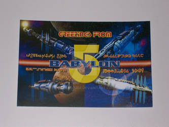 Babylon 5 Post Card
