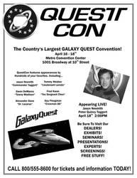 Galaxy Quest Con Flyer