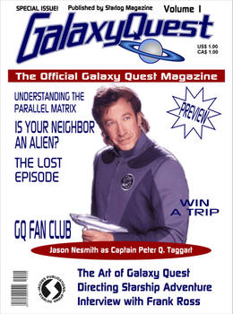 Galaxy Quest Official Magazine