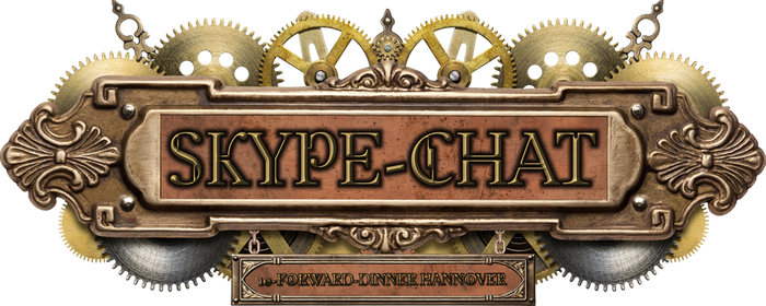 Skype-Chat in Steampunk Style