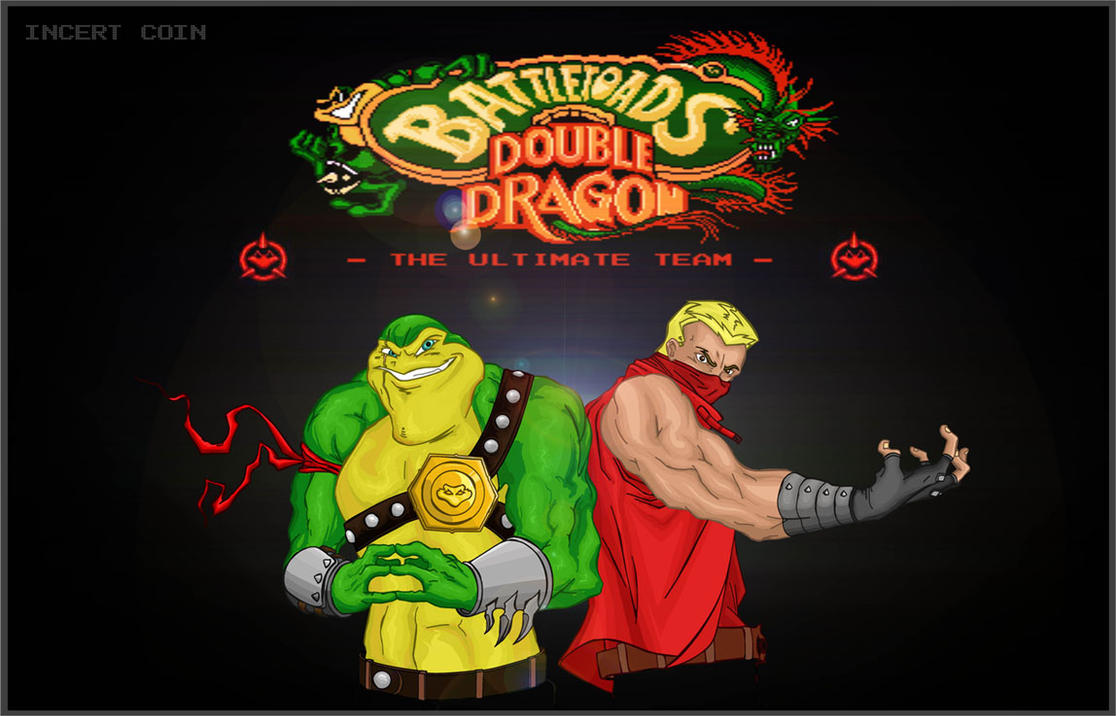 Battletoads + Double Dragon by ANIMATRONIX