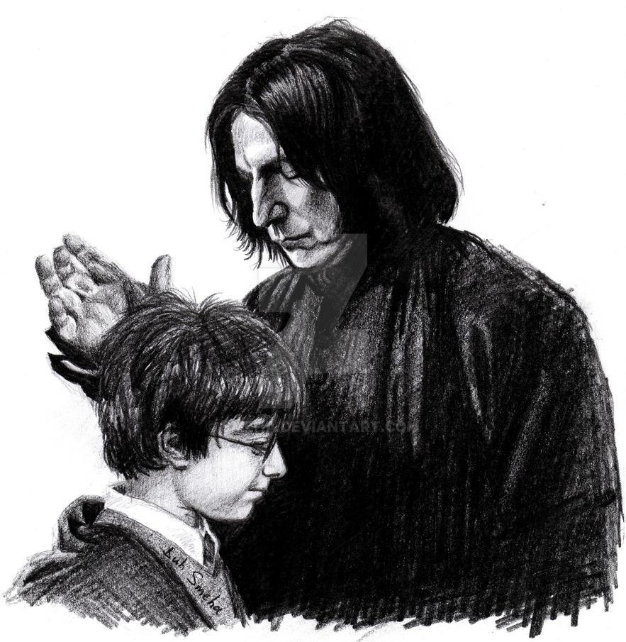 Severus Snape by Smeha