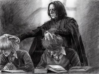 Severus Snape by Duh-Smeha
