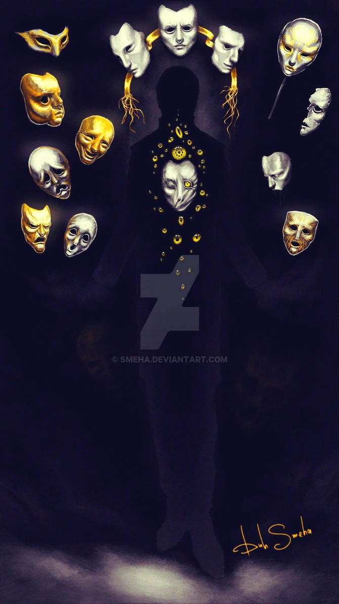 Collector of masks by Smeha