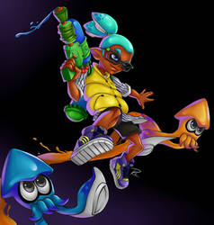 Splatoon - Squidboy