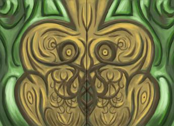 The Door by erenance