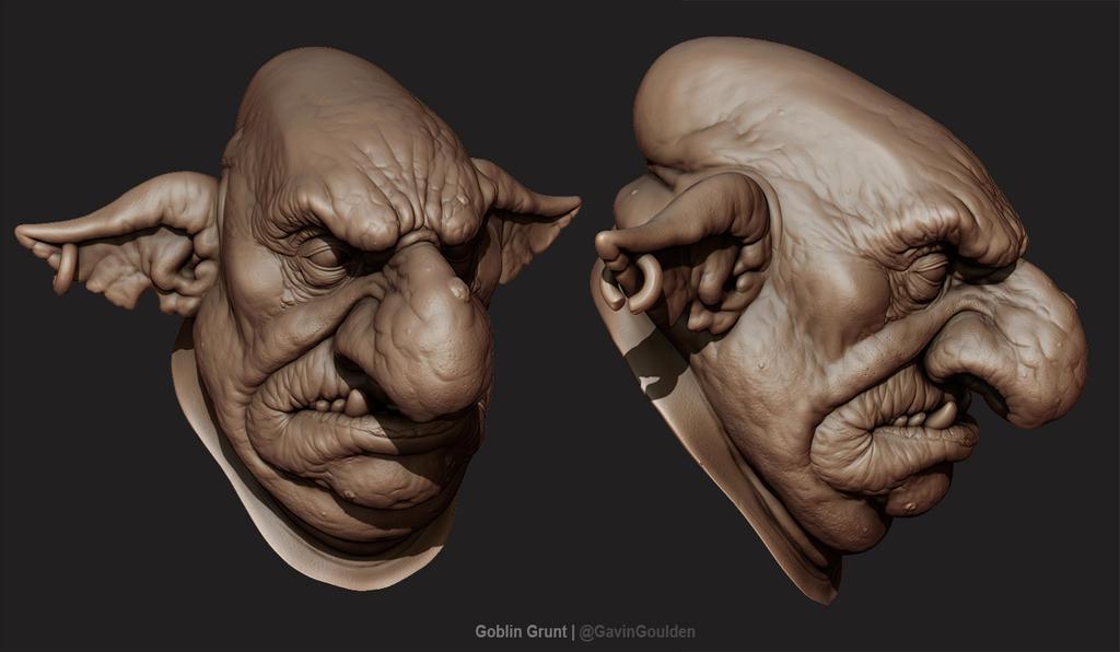 Goblin Grunt by GavinGoulden