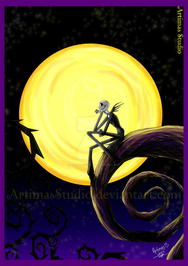 Hallow's Moon by ArtimasStudio