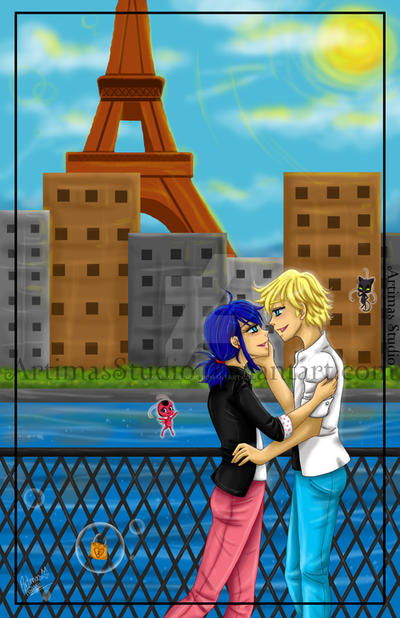 Paris Love by ArtimasStudio