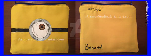 Minion Bag by ArtimasStudio