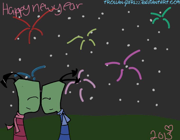 Happy new year by Trollan-gurl22