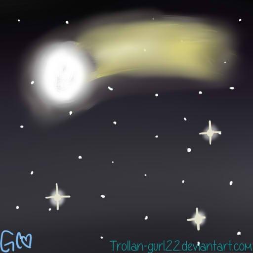 Comet by Trollan-gurl22
