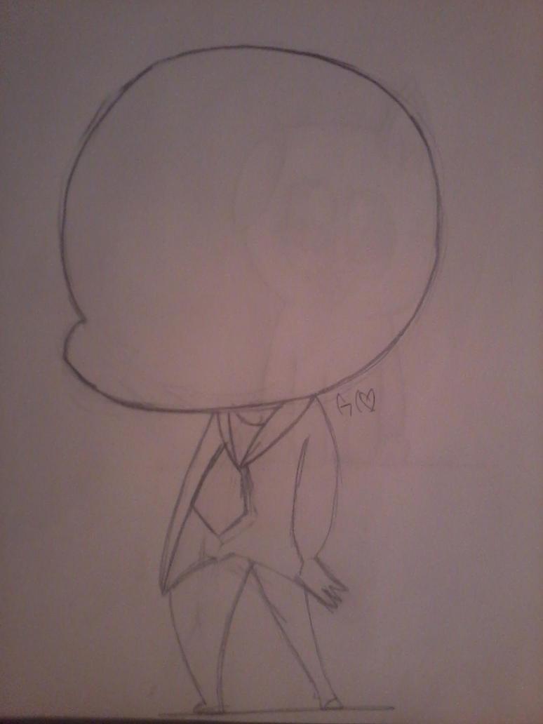 Chibi slender by Trollan-gurl22