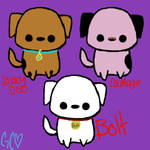 Famous Dogs Adoptables by Trollan-gurl22