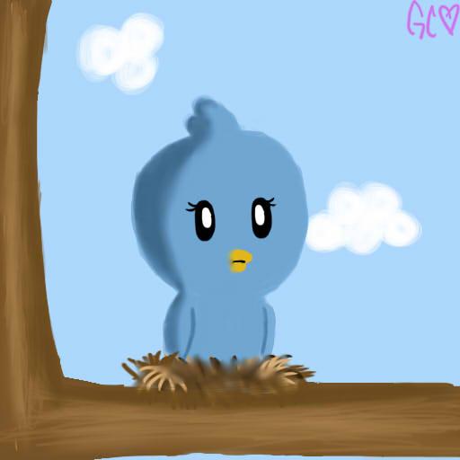 Birdie In A Tree  by Trollan-gurl22