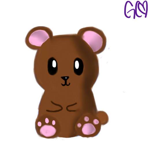 Adorbs Teddy Bear by Trollan-gurl22