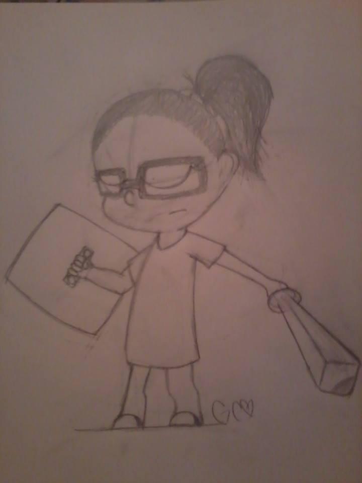 Cartoon self in Toon link style by Trollan-gurl22