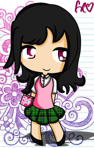 Human!Fem School Girl by Trollan-gurl22