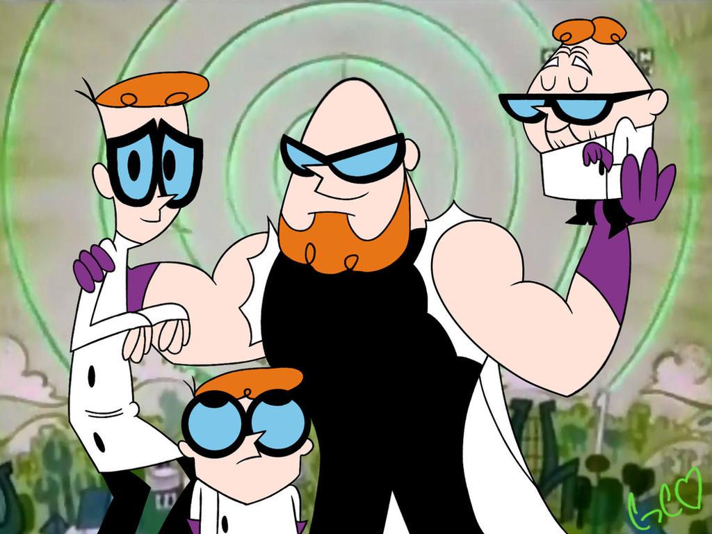 Dexter, Dexter, Dexter and Dexter by Trollan-gurl22