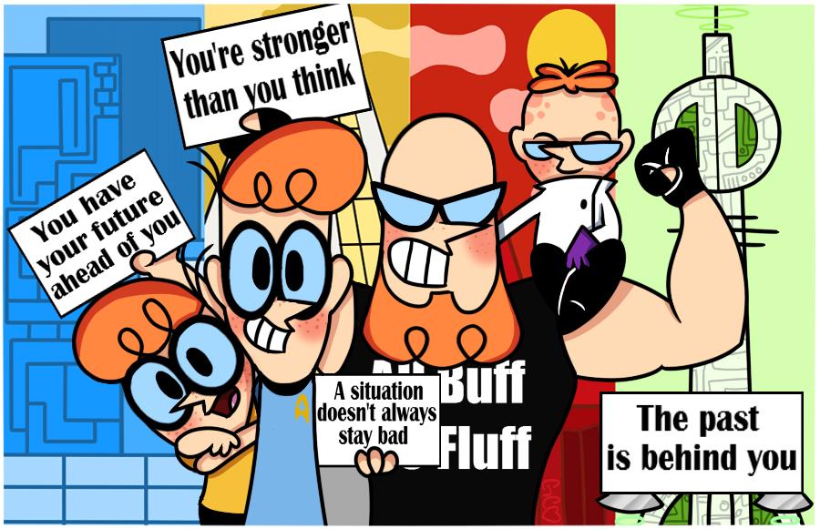 Motivational Dexter (redraw) by Trollan-gurl22