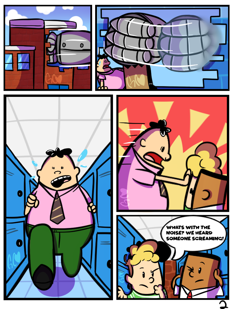 Professor Poopypants comic [commission page 2/?] by Trollan-gurl22