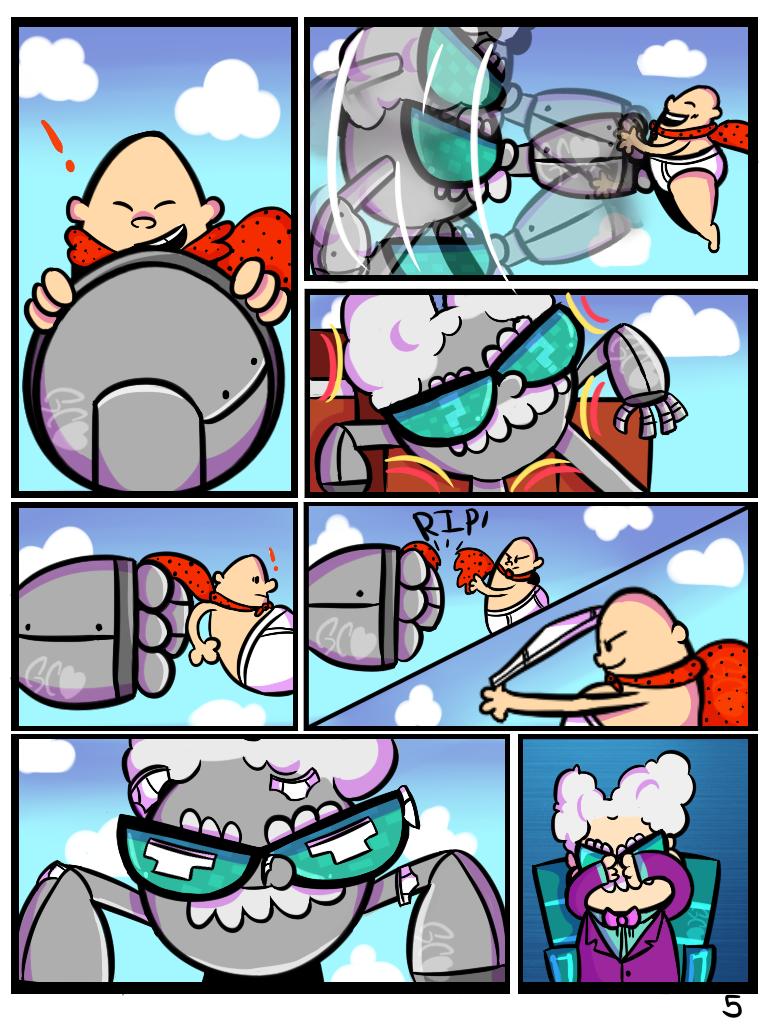 Professor Poopypants comic [commission page 5/?] by Trollan-gurl22
