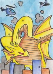King Ghidora card