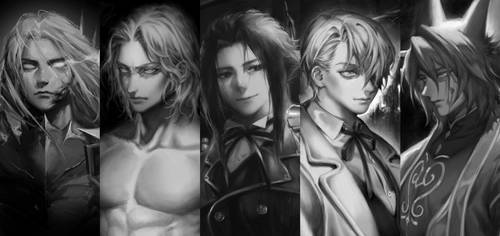 Some of my arts in grayscale