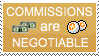 Commissions Stamp by AdelieQueen