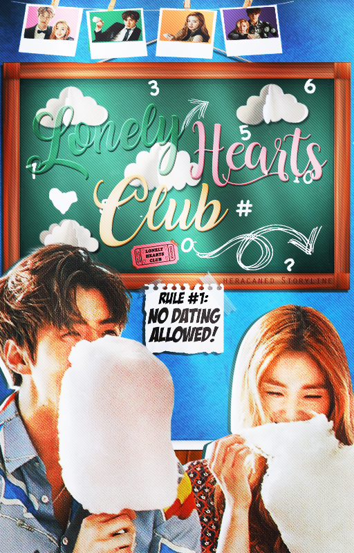 Lonely Hearts Club | Book Cover by KrishnaChi