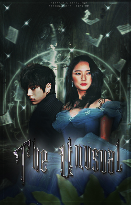 Book Cover |The Unusual ft. Krystal and Myungsoo by KrishnaChi