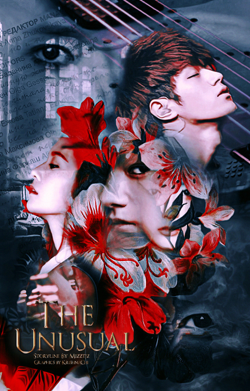 Book Cover|The Unusual ft. Krystal and Myungsoo by KrishnaChi