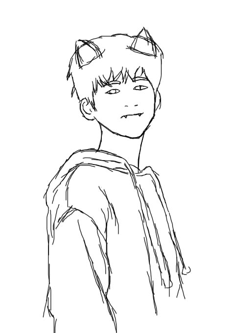 iKON Hanbin Anime Version by KrishnaChi