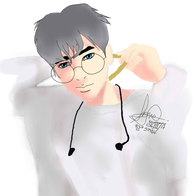 iKON Jung Chanwoo FanArt (Anime Version) by KrishnaChi