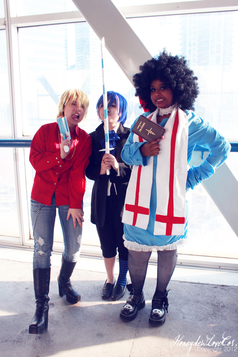 Genderbend PSG - 1 by HoneydewLoveCosplay