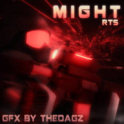 Might GameIcon Red by Thedagzz