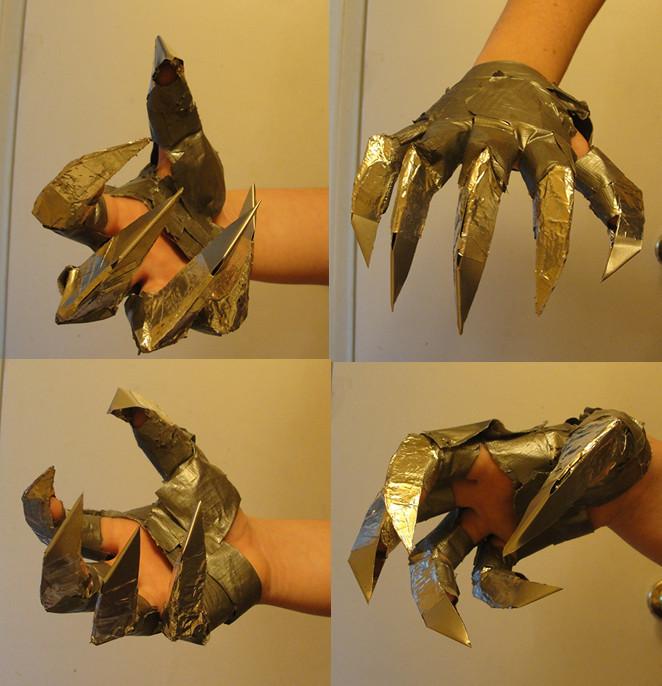 Как сделать из металла когти 441