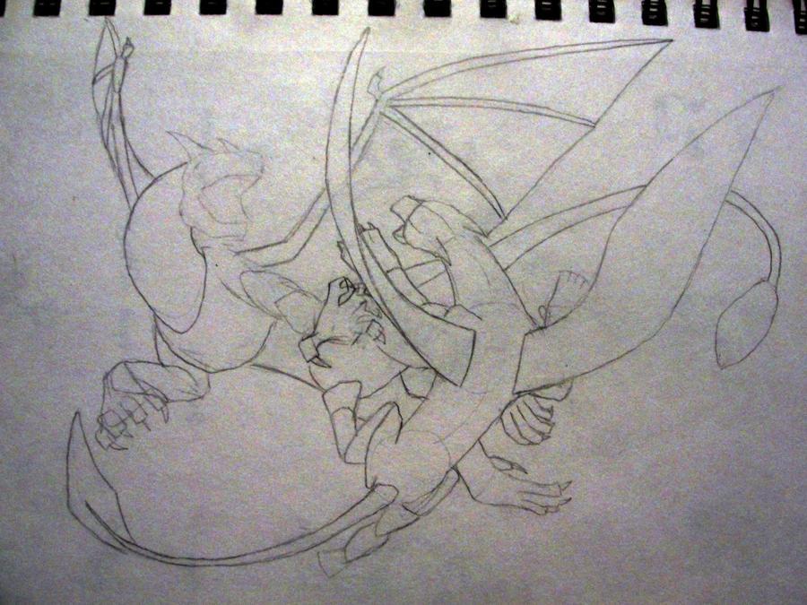 Dragon Vs Griffin By Accelsier On DeviantArt